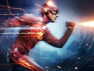 The Flash Grant Gustin Superhero wallpaper