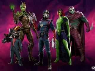 The Guardians of the Galaxy HD Gaming wallpaper