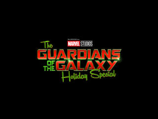 The Guardians of the Galaxy Holiday Special Logo wallpaper