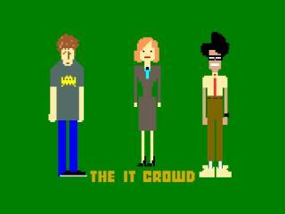the it crowd, roy trenneman, maurice moss wallpaper