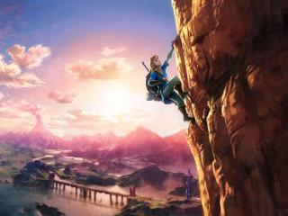 The Legend of Zelda Breath of the Wild 8K wallpaper