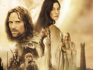 The Lord of the Rings The Two Towers wallpaper