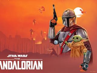 The Mandalorian 4k HD New wallpaper