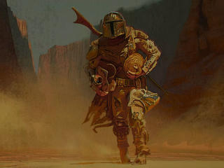 The Mandalorian Art 2020 wallpaper