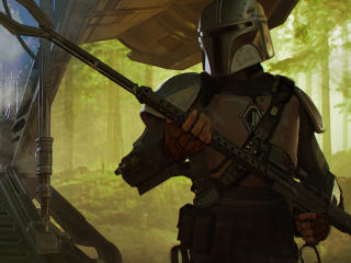 The Mandalorian Chapter 1 wallpaper