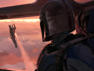 The Mandalorian Chapter 4 Art wallpaper