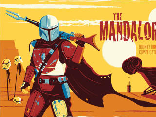 The Mandalorian Disney wallpaper