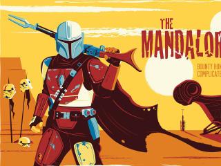 The Mandalorian Disney wallpaper