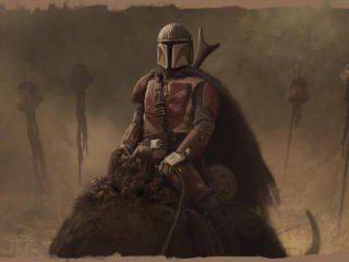 The Mandalorian FanArt wallpaper