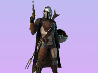 The Mandalorian Fortnite Chapter 2 wallpaper