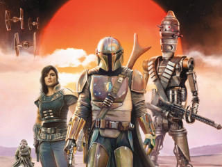 The Mandalorian Poster wallpaper