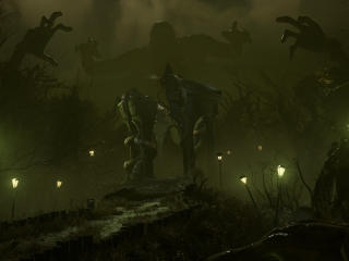 The Medium Game Monsters wallpaper