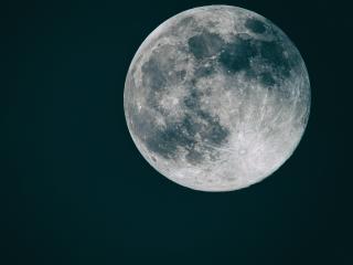 The Moon 4K wallpaper