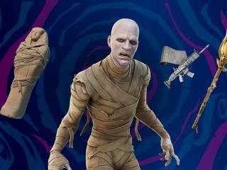 The Mummy HD Fortnite wallpaper