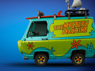 The Mystery Machine Van Scooby Doo wallpaper