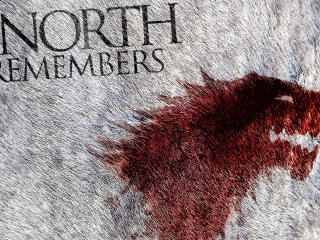 The North Remembers Game Of Thrones Tv Show Wallpaper wallpaper