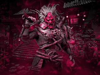 The Oni Dead by Daylight Kazan Yamaoka wallpaper
