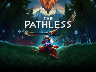 The Pathless Poster wallpaper