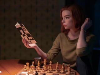 The Queen's Gambit HD wallpaper