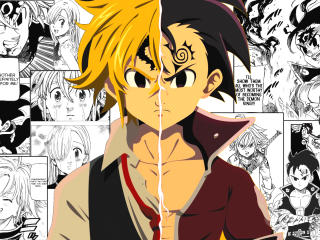 The Seven Deadly Sins Manga HD wallpaper