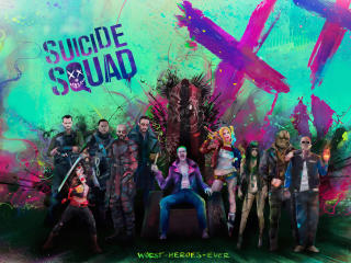 The Suicide Squad Art wallpaper