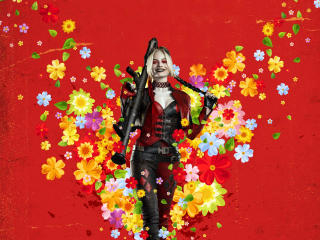 The Suicide Squad Margot Robbie wallpaper