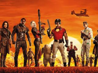 The Suicide Squad Team 2021 John Cena wallpaper