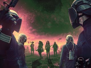 The Walking Dead World Beyond Season 2 wallpaper