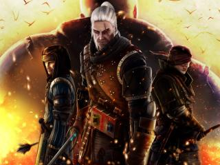 the witcher 2, assassins of kings, characters wallpaper