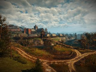HD Wallpaper | Background Image The Witcher 3 Game Village