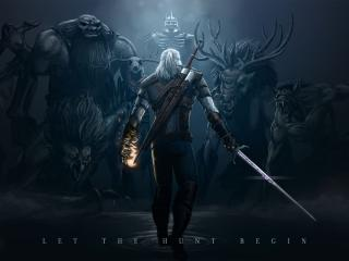 the witcher 3, wild hunt, monsters wallpaper