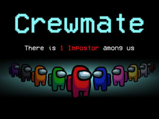There is 1 Imposter Crewmate Among Us wallpaper