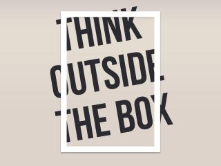 HD Wallpaper | Background Image Think Outside The Box