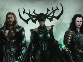 Thor Ragnarok Trinity wallpaper