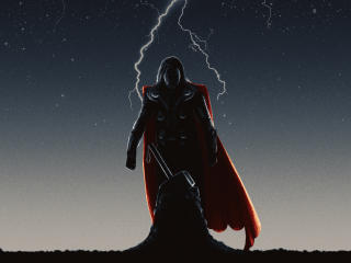 Thor Worthy Again wallpaper