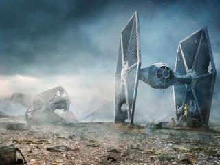 TIE fighter Star Wars wallpaper