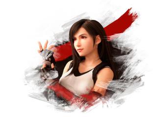 Tifa Final Fantasy VII Remake Digital Art wallpaper