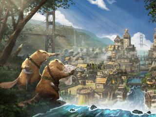 Timberborn HD Gaming wallpaper