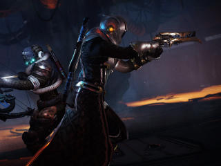 Titan Warlock Destiny 2 Forsaken wallpaper