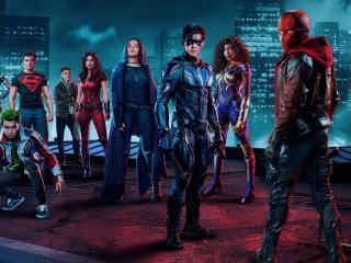Titans 3 Red Hood Poster wallpaper