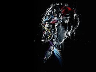Titans 4k Amoled Poster wallpaper