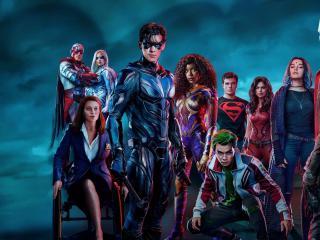 Titans Season 3 All Cast wallpaper