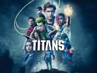 Titans Show Official Poster wallpaper