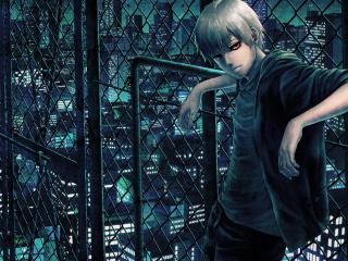 tokyo ghoul, kaneki ken, man wallpaper