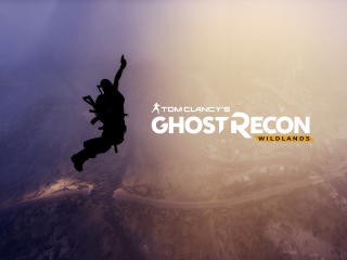 Tom Clancys Ghost Recon Wildlands Logo wallpaper