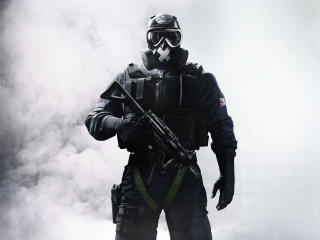 Tom Clancys Rainbow Six Siege Soldier wallpaper