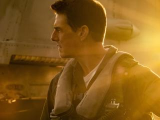 Tom Cruise as Maverick Top Gun wallpaper