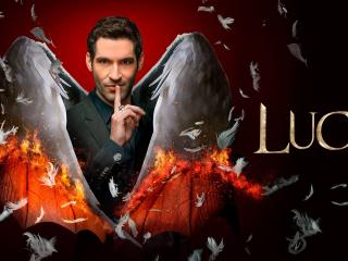 Tom Ellis New Lucifer Morningstar wallpaper
