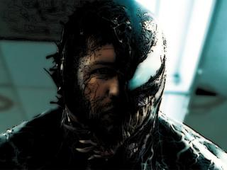 Tom Hardy Venom Artistic wallpaper