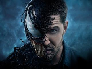 Tom Hardy Venom Movie Poster 2018 wallpaper
